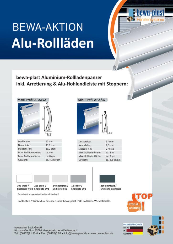 Titelbild Aluminium-Rollläden