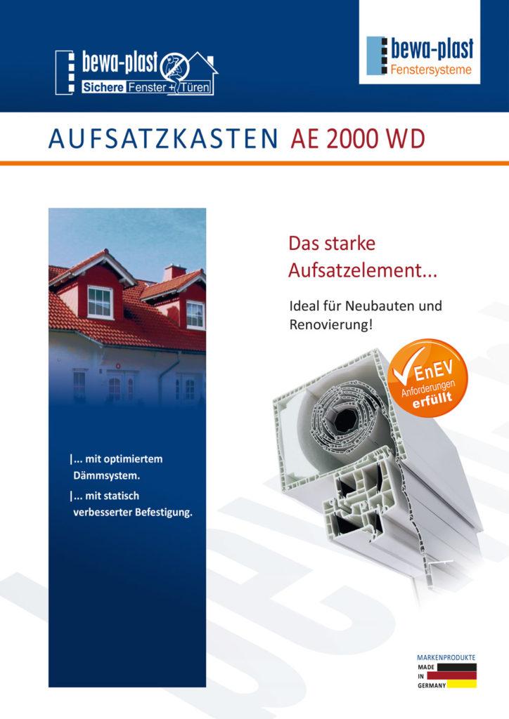titelbild Aufsatzkasten AE 2000 WD