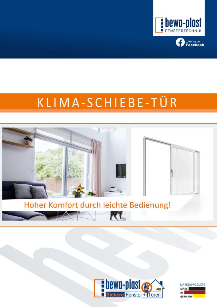 Titelbild Klima-Schiebe-Tür