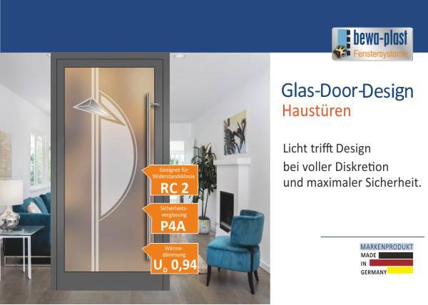 Neu: Glas-Door-Design Haustüren