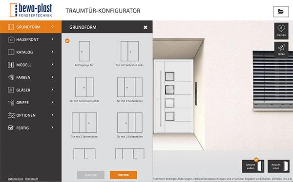 Haustür-Konfigurator