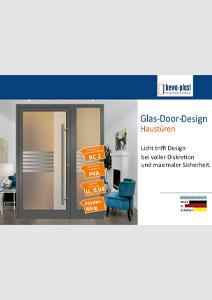 Glas-Door-Design Haustüren